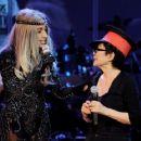 Lady Gaga Shares The Stage With Yoko Ono
