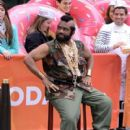 Al Roker poses as Mr. T as part of the Halloween festivities on the