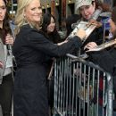 """Amy Poehler's """"Late Show"""" Appearance"""