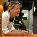 Director Mary Stuart Masterson on the set of The Cake Eaters.