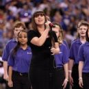 Kelly Clarkson at Super Bowl XLVI (February 5)
