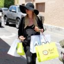 Paris Hilton: shopping at Planet Blue in Los Angeles