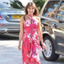 Lizzie Cundy at ITV Studios in London