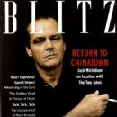 Jack Nicholson - BLITZ Magazine Cover [United Kingdom] (April 1990)