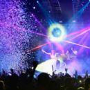 Nicki Minaj performs at Drai's Beach Club - Nightclub at the Cromwell Las Vegas during a New Year's Eve performance on December 31, 2015 in Las Vegas, Nevada
