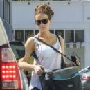 Kate Beckinsale – Heads to the gym in Beverly Hills