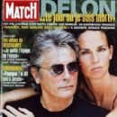 Alain Delon - Paris Match Magazine Cover [France] (September 2000)