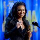 Naya Rivera: during the 2012 NCLR ALMA Awards at Pasadena Civic Auditorium