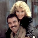 Tom Selleck and Cynthia Rhodes