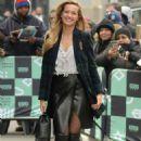 Petra Němcová – Arrives at AOL build Show in New York City - 454 x 706
