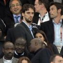 Pau Gasol And Silvia Lopez Castro At 2010 FIFA World Cup Final