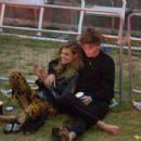 Jessica Clarke and Jordan Barrett at British Summer Time in Hyde Park