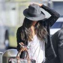 Zoe Saldana – Spotted at LAX Airport in LA - 454 x 643