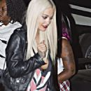 Rita Ora Leaving A Chris Brown Concert In Anaheim
