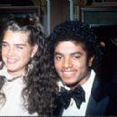 Michael Jackson and Brooke Shields 1981