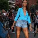 Joan Smalls – Leaving the Peter Dundas Show in Paris - 454 x 681