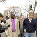 George Clooney: Arrested For Protesting in Washington, D.C