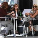 The Stars Of 'The Hills' Out For Lunch At Milk