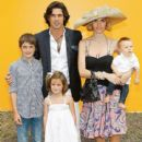 With Wife Delfina And Children Hilario, Aurora And Artemio In New York, 2010 - 415 x 562