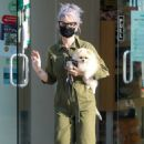 Kelly Osbourne – Picks up her Pomeranian from Healthy Spot in Los Angeles