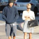 Pamela Anderson shows off new pixie haircut while out with , Rick Salomon - 454 x 552