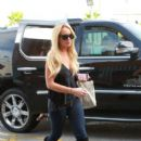 Lindsay Lohan stops off at a Ride Aid drugstore for a couple of items after attending her last alcohol education class