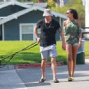 3500x2333 · Joel Kinnaman and Kelly Gale take their dogs to the dog park in Venice Beach - 454 x 303