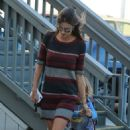 Alessandra Ambrosio – Out and About in L.A. 10/18/ 2016 - 454 x 555