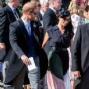 Meghan Markle and Prince Harry – Leaving Daisy Jenks and Charlie Van Straubenzee's wedding in Surrey - 454 x 670