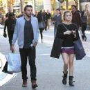 Lucy Hale  spotted out shopping at The Grove in Los Angeles, California on March 31, 2016 - 454 x 480