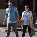Channing and Jenna Grab Coffee in Santa Monica