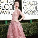 Lily Collins at the 74th Golden Globe Awards - arrivals - 454 x 733