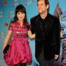 Jim Carrey & Zooey Deschanel Attend Yes Man Premiere
