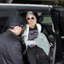 Paris Hilton Arrives At LAX, 2008-05-07