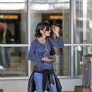 David Charvet, Brooke Burke and Vanessa Marcil at LAX