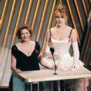 Susan Sarandon and Geena Davis At The 64th Annual Academy Awards (1992)