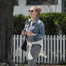 Amy Adams out in West Hollywood