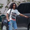 Kelly Rowland – Heading to a studio in Los Angeles - 454 x 683