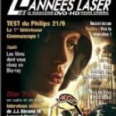 Angelina Jolie - LES ANNEES LASER Magazine Cover [France] (May 2009)