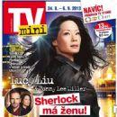 Lucy Liu - TV Mini Magazine Cover [Czech Republic] (24 September 2013)
