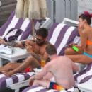 Lily Allen In Bikini At A Hotel Pool In New York