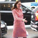 Prince Windsor and Kate Middleton visited the Karolinska Hospital in Stockholm