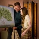 (L-r) AIDAN QUINN as Richard Baker and MADELINE CARROLL as Juli Baker in Castle Rock Entertainment's coming-of-age romantic comedy 'FLIPPED,' a Warner Bros. Pictures release. Photo by Ben Glass - 454 x 348