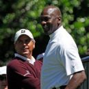 Fred Couples & Michael Jordan - 454 x 581