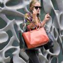Mary-Kate Olsen's Handbag Juggling Act