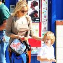 Kate Hudson Picking Son Ryder Up From School