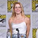 Emily Bett Rickards-   Comic-Con International 2018 - 'Arrow' Special Video Presentation And Q&A - 454 x 572