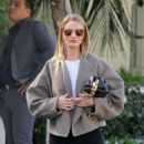 Rosie Huntington Whiteley – Leaves a lunch meeting in West Hollywood