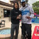 Blac Chyna and King Cairo at Amber Rose and Wiz Khalifa's Son Sebastian's Birthday Party at Amber's Home in Tarzana, California - February 19, 2017 - 454 x 609