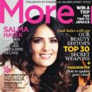 Salma Hayek: October 2012 issue of More Canada magazine